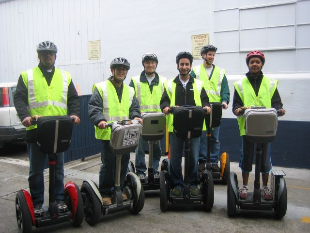 Segwaying it